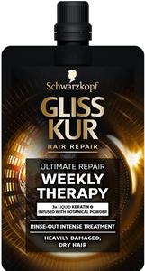 Schwarzkopf Gliss Kur Ultimate Repair Weekly Therapy Hajpakolás