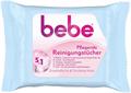 bebe 5in1 Tápláló Tisztítókendő Érzékeny és Száraz Bőrre