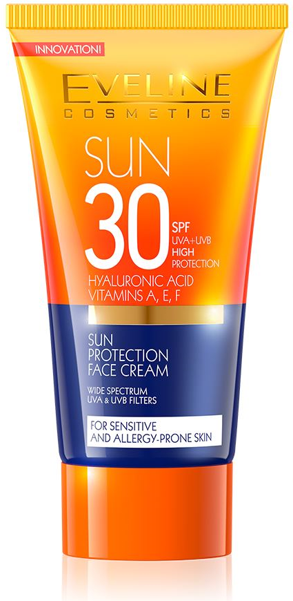 Eveline Cosmetics Sun Napvédő Arckrém SPF30 5efcc2bb4b