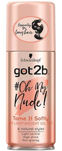 Got2b #OhMyNude Szelíd Puhaság Hajkisimító Olajos Spray