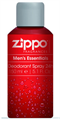 Zippo Men's Essentials Deodorant Spray