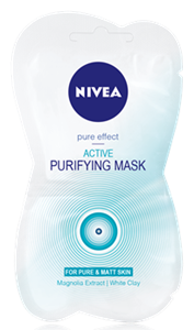 Nivea Pure Effect Aktív Tisztító Maszk