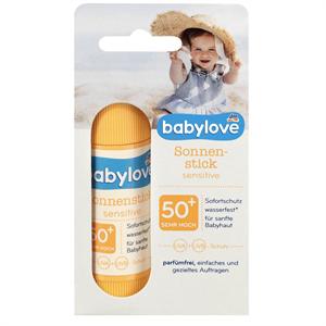 Babylove Sonnenstick Sensitive 50+ Szenzitív Napozó Stift