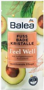 Balea Feel Well Lábápoló Fürdőkristály Hidegen Préselt Avokádóolajjal