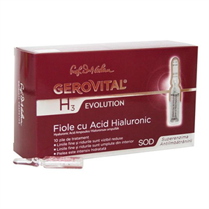 Gerovital H3 Evolution Hyaluronsav Ampullák