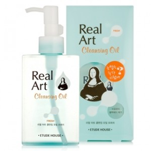 Etude House Real Art Cleansing Oil Fresh