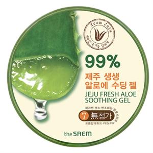 The Saem Jeju Fresh Aloe Soothing Gel 99 %