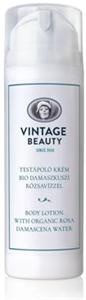 Vintage Beauty Testápoló Krém Bio Damaszkuszi Rózsavízzel