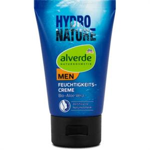 Alverde Men Hydro Nature Hidratáló Arckrém Bio Aloe Verával