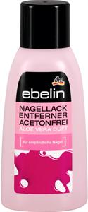 Ebelin Acetonmentes Körömlakklemosó Aloe Vera Illattal
