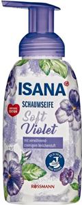 Isana Soft Violet Habszappan