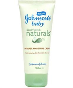 Johnson's Baby Soothing Naturals Intense Moisture Cream
