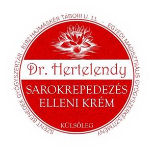 Dr. Hertelendy Sarokrepedezés Elleni Krém