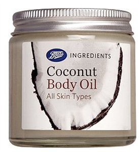 Boots Coconut Body Oil