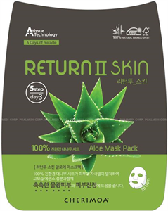Cherimoa Return II Skin Aloe Mask Pack
