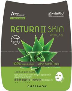Cherimoa Return II Skin Aloe Mask Pack