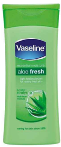 Vaseline Aloe Fresh Light Feeling Lotion