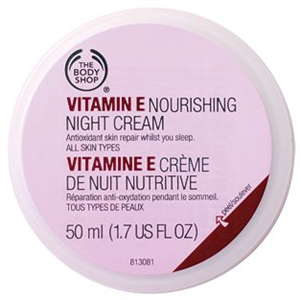 The Body Shop E Vitaminos Éjszakai Krém