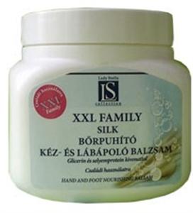 Lady Stella XXL Family Silk Bőrpuhító Kéz- és Lábápoló Balzsam