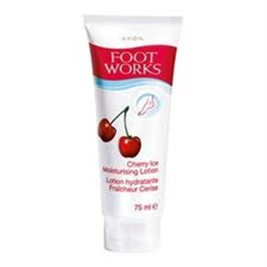 Avon Foot Works Cseresznyés Hűsítő, Hidratáló Lotion
