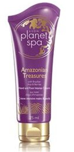 Avon Planet Spa Amazonian Treasures Kéz- és Lábápoló Krém
