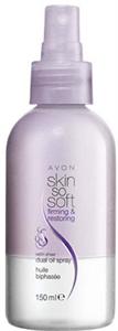 Avon Skin So Soft Bőrfeszesítő Szaténfényű Olajspray