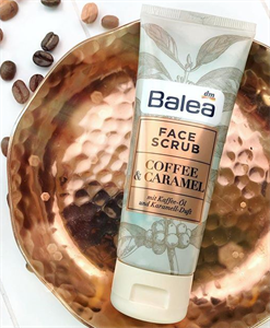 Balea Coffee & Caramel Face Scrub