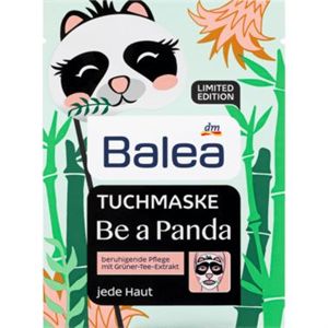Balea Tuchmaske Be A Panda