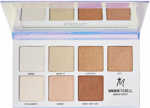 BPerfect Cosmetics Mmmmitchell Sub Zero Highlighter Paletta