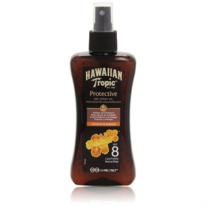Hawaiian Tropic Spf8 Protective Dry Spray Oil