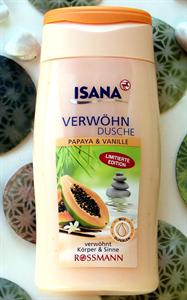 Isana Papaya & Vanília Tusfürdő (régi)