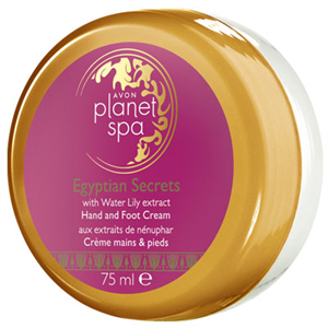 Avon Planet Spa Egyptian Secrets Kéz- és Lábkrém