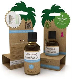 Coconutoil Cosmetics Arcregeneráló és Sminklemosó Olaj