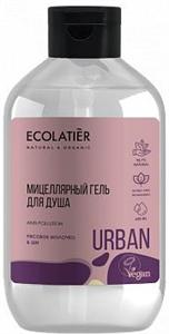 Ecolatier Urban Micellar Shower Gel Rice Milk & Shea - Shea és Rizstej