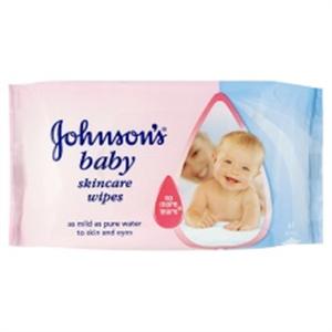 Johnson's Baby Skincare Wipes Törlőkendő