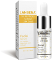 Lanbena Six Peptides Serum 24K Gold