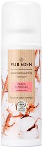 Pur Eden Deo Spray - Érzékeny Bőrre Nőknek