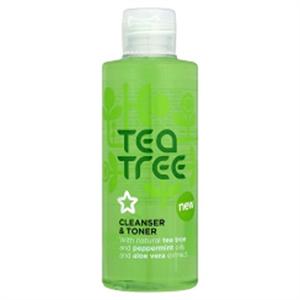 Superdrug Tea Tree & Peppermint Cleanser/Toner