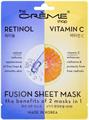 The Crème Shop Retinol & Vitamin C Fusion Sheet Mask