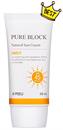 A'pieu Pure Block Natural Sun Cream Daily SPF45 / PA+++