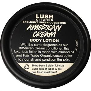 Lush American Cream Testápoló