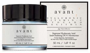 Avant Supreme Hyaluronic Krém Erős Hidratáló Hatással