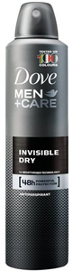 Dove Men+Care Invisible Dry Férfi Izzadásgátló Aeroszol
