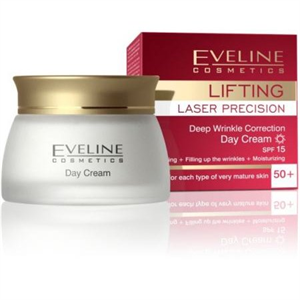 Eveline Lifting Laser Precision 50+ Nappali Krémkoncentrátum