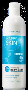 Oriflame Happy Skin Testápoló Losion Normál/Száraz Bőrre