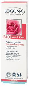 Logona Arctisztító tej Bio Rózsa & Aloe Kivonattal