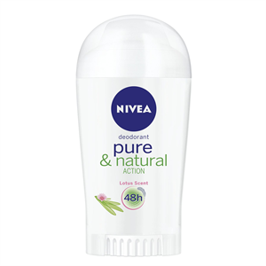 Nivea Pure & Natural Action Lotus Deo Stift