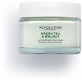 Revolution Skincare Green Tea & Walnut Hámlasztó Arcpakolás