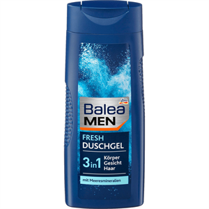 Balea Men Fresh 3in1 Tusfürdő és Sampon