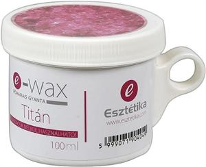 e-Wax Titán Poharas Gyanta